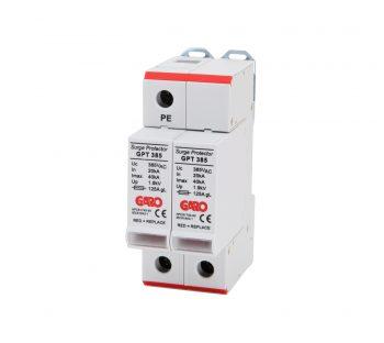 Overspenningsvern GPT 385 2 Pol-0