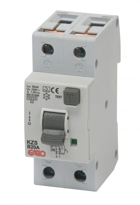 Kombiautomat KZS 2P 2M 15CPR 30mA-0