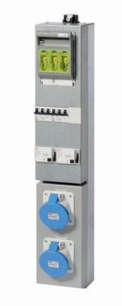 GPI-3M kassett 2x63Amp 230V-0