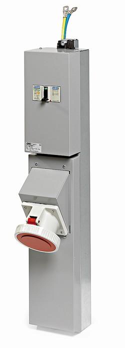 GPI-3M kassett 125Amp 400V-0