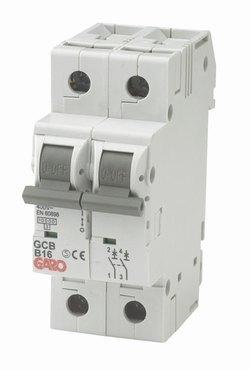 MCB Automatsikring 2pol 6C-0