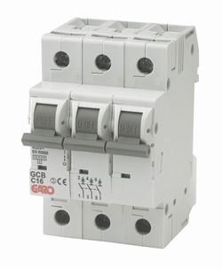 GARO MCB Automat 3p 16A D kar-0