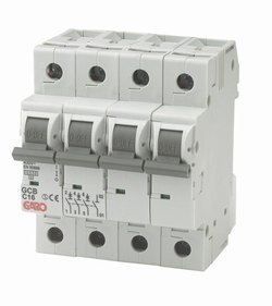 MCB Automatsikring 4pol 10C-0