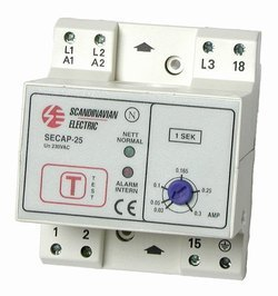 Jordfeilvarsler SECAP 25-0