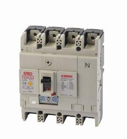Effektbryter GE250-SJ 4P 160A -0