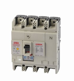 Effektbryter GE250-SJ 4P 160A -1579