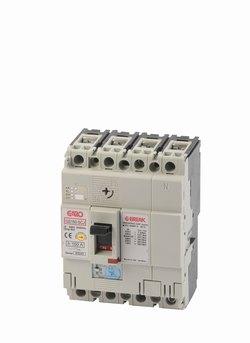 Effektbryter GS160-SCJ 4P 63-0