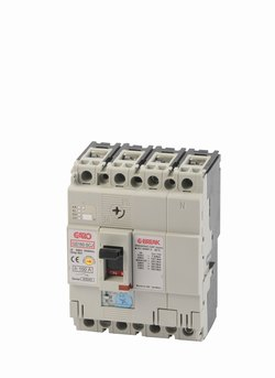 Effektbryter GS160-SCJ 4P 100A-0