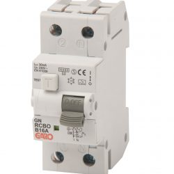 Kombiautomat RCBO 30mA 1+N 15CPR-0