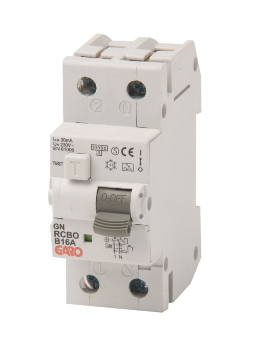 Kombiautomat RCBO 30mA 1+N 6C-0