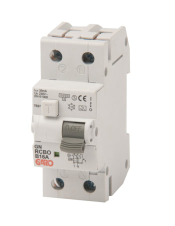 Kombiautomat RCBO 30mA 1+N 10C-0