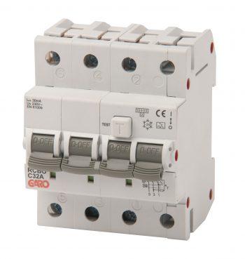 Kombiautomat RCBO 3fas 4M 32C-0