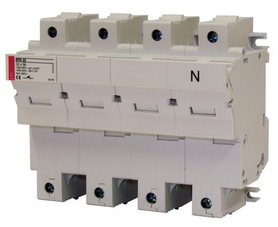Sikringsholder EFD22 3+N 100A 399-0