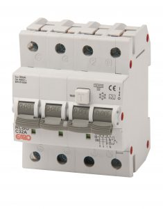 Kombiautomat RCBO 30mA 3+N 13C-0
