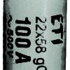 Smeltesikring CH22 100 Amp gG 500V-0