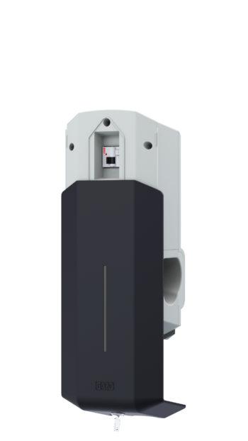 Hjemmelader med fast kabel Type1. 7,4kW GHL-FK T1 - 7,4-3774
