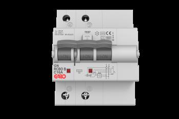 Kombiautomat Type B 2Pol 25C 30mA-0